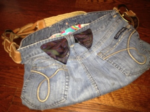 Blue Jean Fun Bag 1